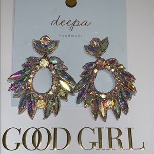 Deeps wedding earrings